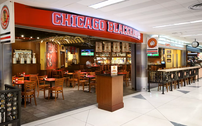 Food Court O'hare Airport