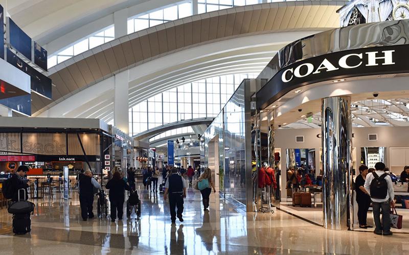 Shopping at LAX Airport
