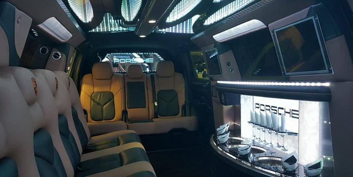 Porsche Cayenne Limo Service (Interior)