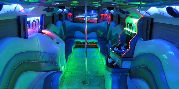 28-32 Passenger Party Bus (Interior)