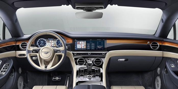 Bentley Flying Spur Car Rental (Interior)