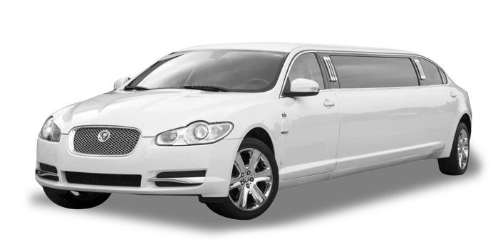 Jaguar XF limo rental