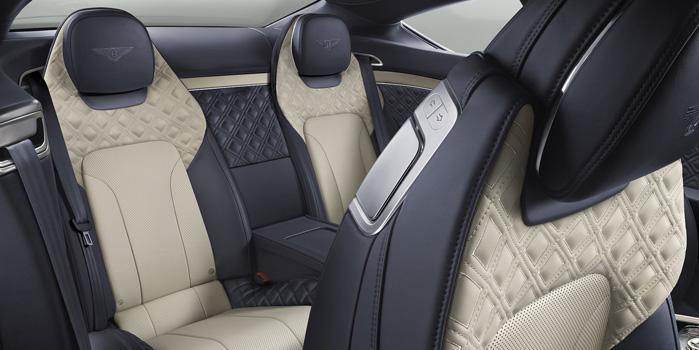 Bentley Continental GT Rental (Interior)