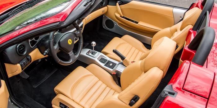 Ferrari 360 Spider Rental