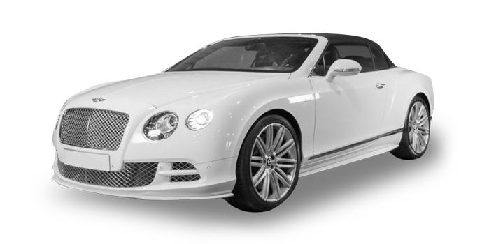 Global Limo Bentley Continental GTC White Rental