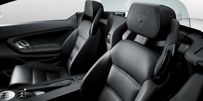 Global Limo Lamborghini Gallardo Spyder Rental (Interior)