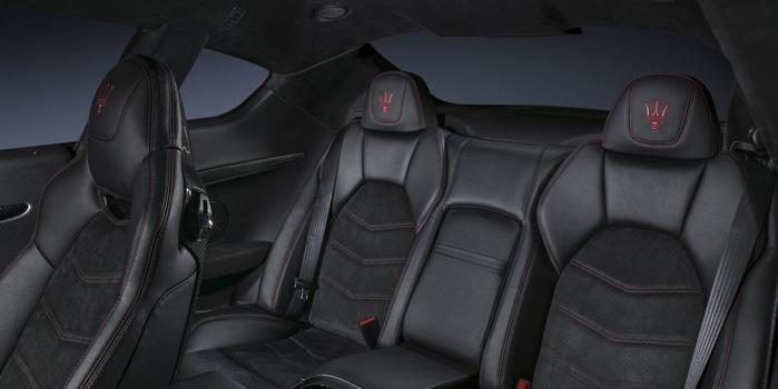 Maserati Granturismo Rental (interior)