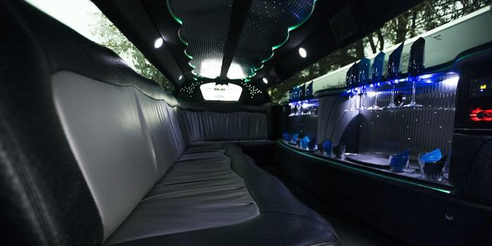 Dodge Charger Limousine (interior)