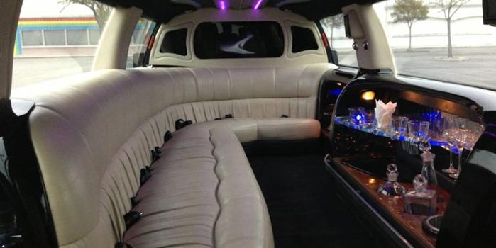 Ford Expedition Limo Rental (Interior)