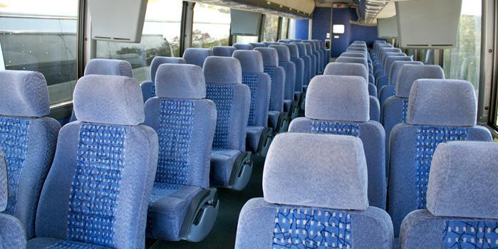 Charter Bus (interior)