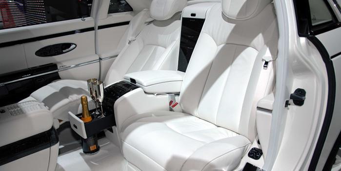 Maybach 57 and 62 Landaulet Rental (Interior)