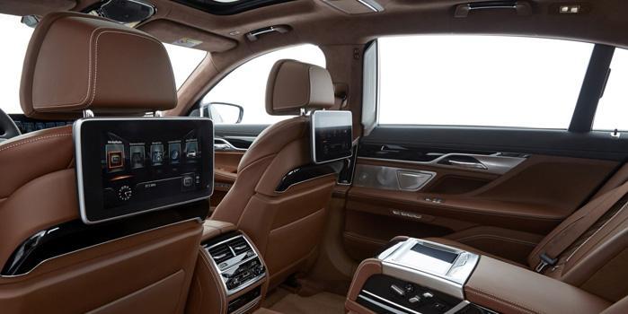 BMW 750 Li Sedan Rental (Interior)