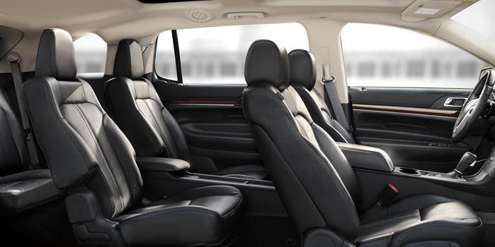 Lincoln MKT Town Sedan Rental (interior)