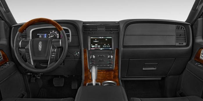 Lincoln Navigator SUV Rental (Interior)