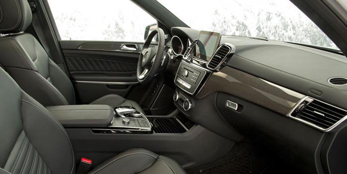 Mercedes GL-550 Rental Services (Interior)