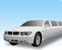 BMW 750 Stretch Limo Car Service