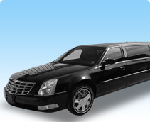 Cadillac DTS Limousine Rental