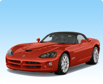 Dodge Viper SRT 10 Rental