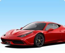 Ferrari 458 Italia Rental