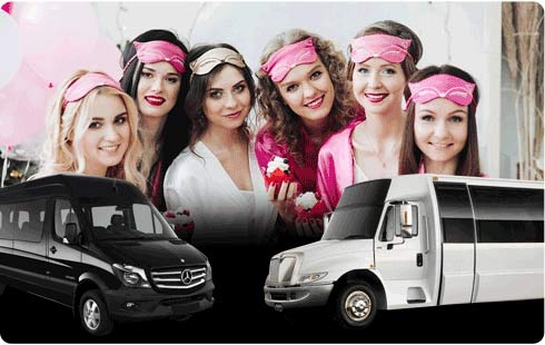 Bachelor Party Limo & Party Bus Rental