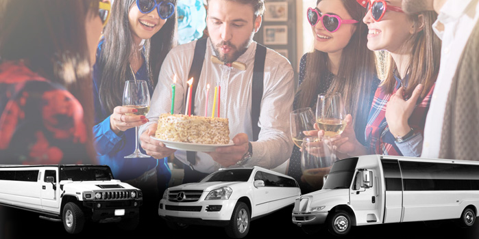 Birthday Party Limo Rentals