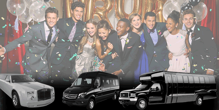 Prom and Formal Party Bus Rentals